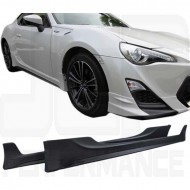 Faldones laterales tipo TR para GT86/BRZ